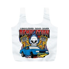 Demolition Derby Full Print Recycle Bag (m)