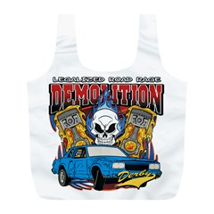 Demolition Derby Full Print Recycle Bag (l)