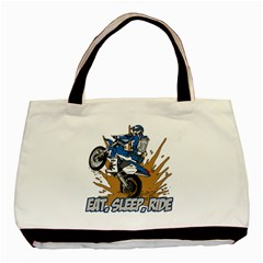 Eat Sleep Ride Motocross Classic Tote Bag (Two Sides)