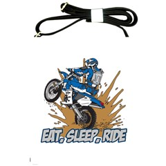 Eat Sleep Ride Motocross Shoulder Sling Bag