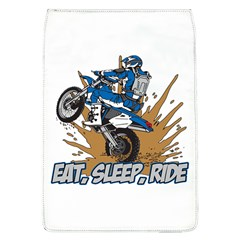 Eat Sleep Ride Motocross Removable Flap Cover (large)