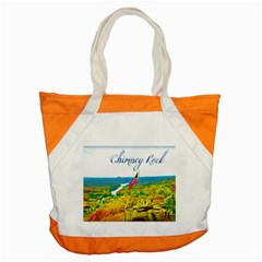 Chimney Rock Overlook Air Brushed Accent Tote Bag