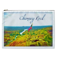 Chimney Rock Overlook Air Brushed Cosmetic Bag (xxl)