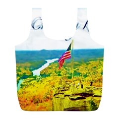 Chimney Rock Overlook Air Brushed Reusable Bag (L)