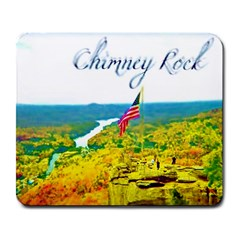 Chimney Rock Overlook Air Brushed Large Mouse Pad (rectangle)