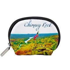 Chimney Rock Overlook Air Brushed Mini Zipper Pouch