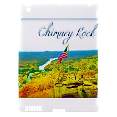 Chimney Rock Overlook Air Brushed Apple Ipad 3/4 Hardshell Case (compatible With Smart Cover)