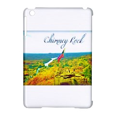 Chimney Rock Overlook Air Brushed Apple iPad Mini Hardshell Case (Compatible with Smart Cover)