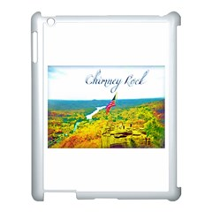 Chimney Rock Overlook Air Brushed Apple Ipad 3/4 Case (white)