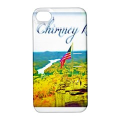 Chimney Rock Overlook Air Brushed Apple Iphone 4/4s Hardshell Case With Stand