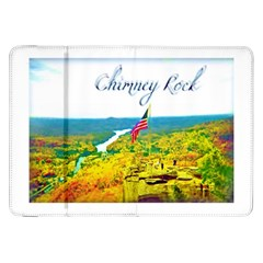 Chimney Rock Overlook Air Brushed Samsung Galaxy Tab 8 9  P7300 Flip Case