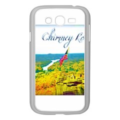 Chimney Rock Overlook Air Brushed Samsung Galaxy Grand DUOS I9082 Case (White)