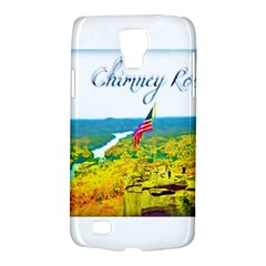Chimney Rock Overlook Air Brushed Samsung Galaxy S4 Active (I9295) Hardshell Case