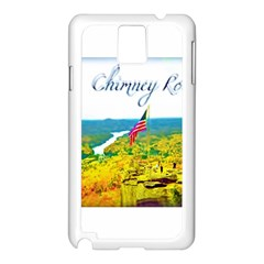 Chimney Rock Overlook Air Brushed Samsung Galaxy Note 3 N9005 Case (White)