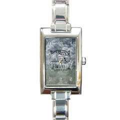 Once Upon A Time Rectangular Italian Charm Watch