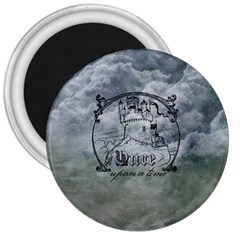 Once Upon A Time 3  Button Magnet