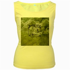 Once Upon A Time Women s Tank Top (Yellow)