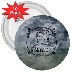 Once Upon A Time 3  Button (10 pack)