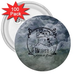 Once Upon A Time 3  Button (100 pack)