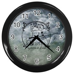 Once Upon A Time Wall Clock (Black)