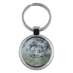Once Upon A Time Key Chain (round)