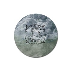 Once Upon A Time Magnet 3  (Round)