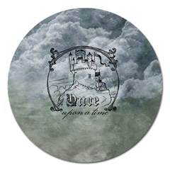 Once Upon A Time Magnet 5  (Round)