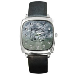 Once Upon A Time Square Leather Watch