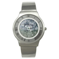 Once Upon A Time Stainless Steel Watch (Slim)