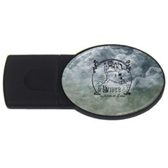 Once Upon A Time 4gb Usb Flash Drive (oval)