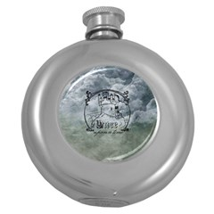 Once Upon A Time Hip Flask (Round)