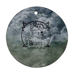 Once Upon A Time Round Ornament (Two Sides)