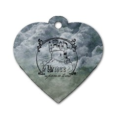 Once Upon A Time Dog Tag Heart (Two Sided)