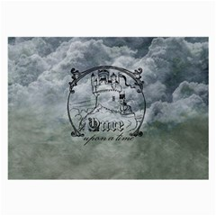 Once Upon A Time Glasses Cloth (large, Two Sided)