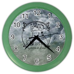 Once Upon A Time Wall Clock (color)