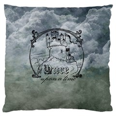 Once Upon A Time Large Cushion Case (Two Sided)