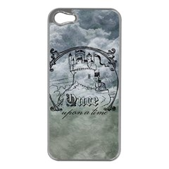 Once Upon A Time Apple iPhone 5 Case (Silver)