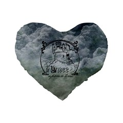 Once Upon A Time 16  Premium Heart Shape Cushion