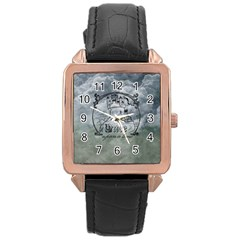 Once Upon A Time Rose Gold Leather Watch