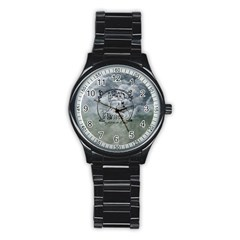 Once Upon A Time Sport Metal Watch (Black)