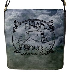 Once Upon A Time Flap Closure Messenger Bag (Small)