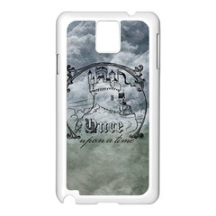 Once Upon A Time Samsung Galaxy Note 3 N9005 Case (White)
