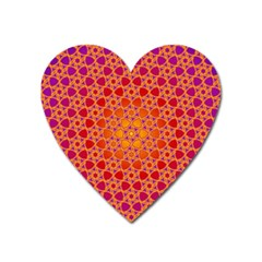 Radial Flower Magnet (Heart)