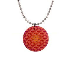 Radial Flower Button Necklace