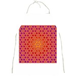 Radial Flower Apron Front