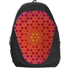 Radial Flower Backpack Bag