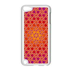 Radial Flower Apple iPod Touch 5 Case (White)
