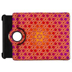 Radial Flower Kindle Fire HD 7  (1st Gen) Flip 360 Case