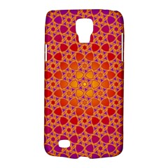 Radial Flower Samsung Galaxy S4 Active (I9295) Hardshell Case
