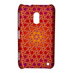 Radial Flower Nokia Lumia 620 Hardshell Case